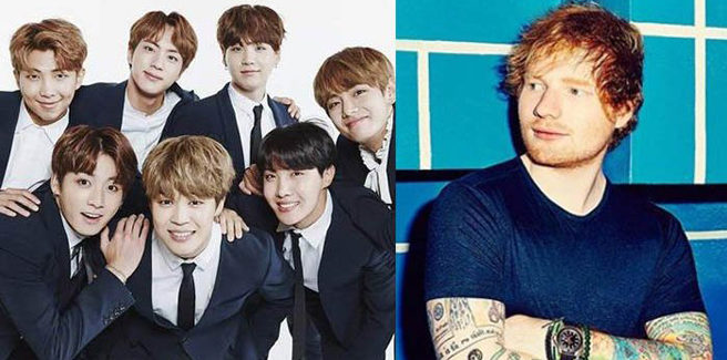 I BTS collaboreranno con Ed Sheeran?