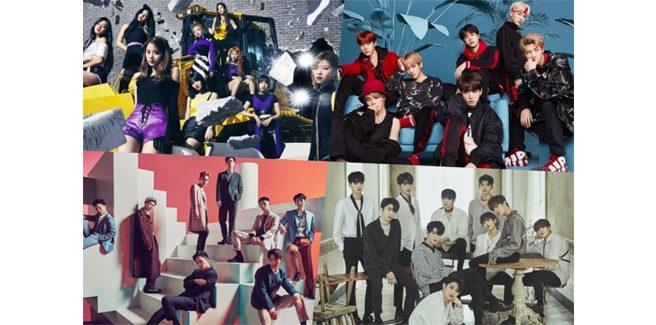 I migliori album coreani in Giappone nel 2018?