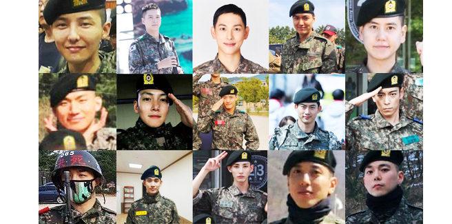 Quali celebrità torneranno dal militare nel 2019?
