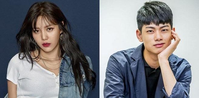 Hyejung delle AOA e l'attore Ryu Ui Hyun sono una coppia