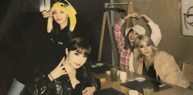 Le 2NE1 si riuniscono per il 10° anniversario