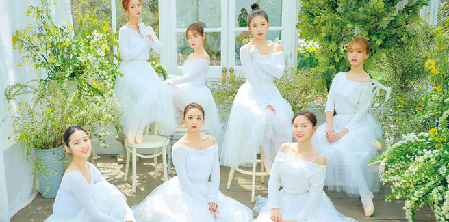 Le Oh My Girl, dolci ballerine, in 'The Fifth Season'