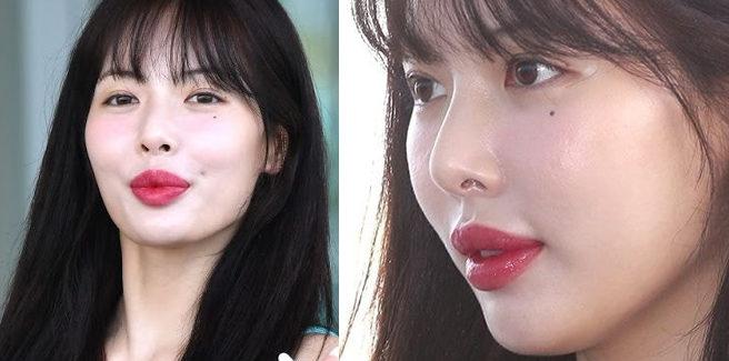 HyunA si è rifatta le labbra diventa Hot Topic in Corea Del Sud?