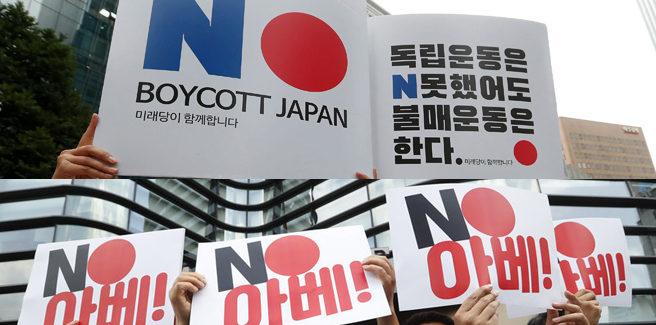 Le tensioni Giappone-Corea del Sud colpiscono vendite e idol