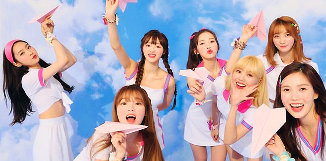 Colorate e frizzanti Oh My Girl in 'BUNGEE'