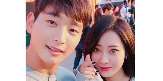 Jinwoon (ex-2AM) e Kyungri (ex-9MUSES) stanno insieme da due anni