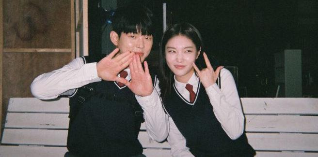 Paul Kim e Chungha dolci in 'Loveship'