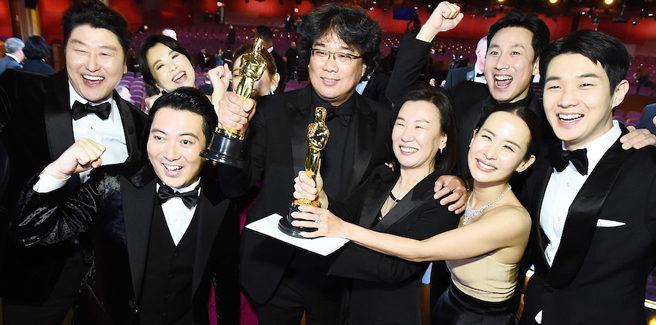 Il film coreano 'Parasite' fa la storia dell'Academy con 4 Oscar tra cui 'Miglior Film'
