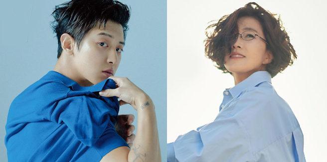 "Lee Sun Hee canta ""Anbu"" con Chanyeol degli EXO"