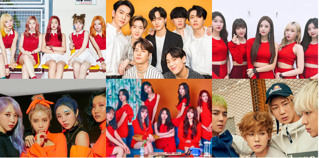 Quali contratti di gruppi k-pop scadranno nel 2020?
