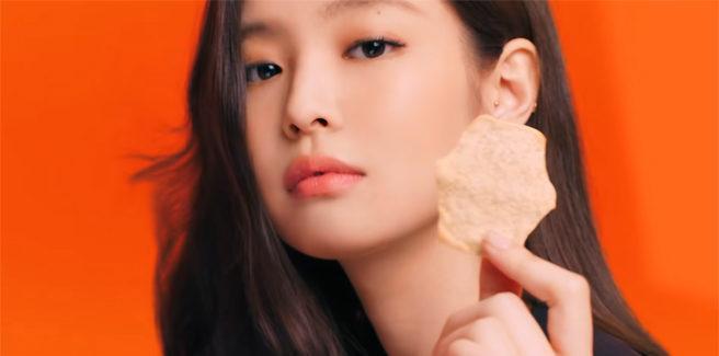 """Lo snack """"Air Baked"""" di Lotte vende in tutto il mondo grazie a Jennie delle BLACKPINK?"""