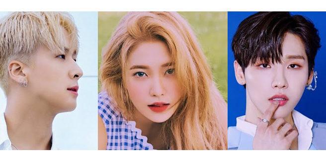 Yeri (Red Velvet), Jeon Woong (AB6IX) e Ravi (VIXX) si divertono in 'Woman on the Beach'