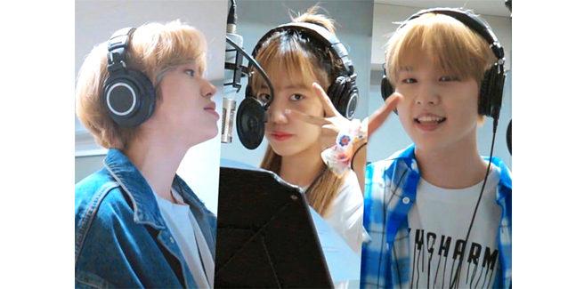 "Niel (TEEN TOP), Namjoo (A Pink) e Nam Do Hyun nella cover ""Destiny"""