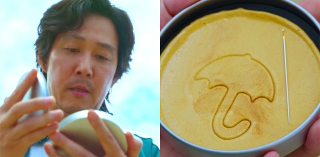 Cosa sono e come si fanno le caramelle Dalgona di 'Squid Game' su Netflix