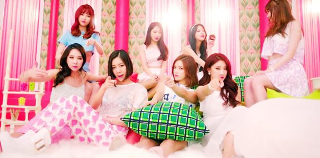 Le Nine Muses stanno preparando un nuovo album e Sungah diventa trend in Corea