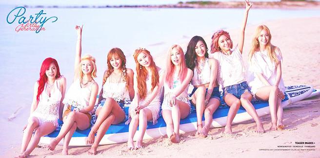 Le Girls' Generation conquistano la classifica Hanteo e la prima vittoria con 'PARTY'