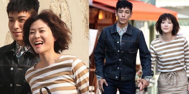 T.O.P dei BIGBANG e Juri Ueno a un'appuntamento per un drama