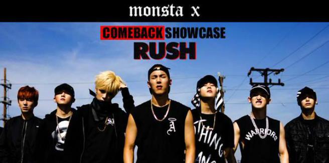 """La Starship Entertainment rilascia le foto teaser per """"Rush"""" dei MONSTA X"""