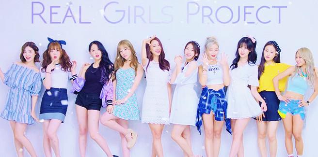 Dieci idol riunite come le R.G.P (Real Girls Project) per un nuovo drama