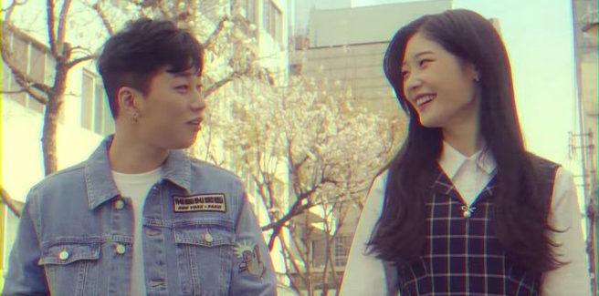 DinDin nell'MV 'Super Super Lonely' con Chaeyeon delle DIA