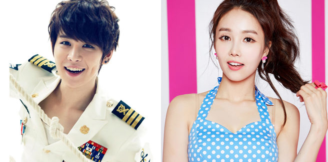 Jang Hanbyul nell'MV di 'Dumb LOVE' con Linzy delle FIESTAR