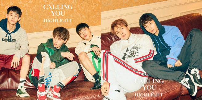 "Secondo set di foto teaser per ""Calling you"" degli Highlight"