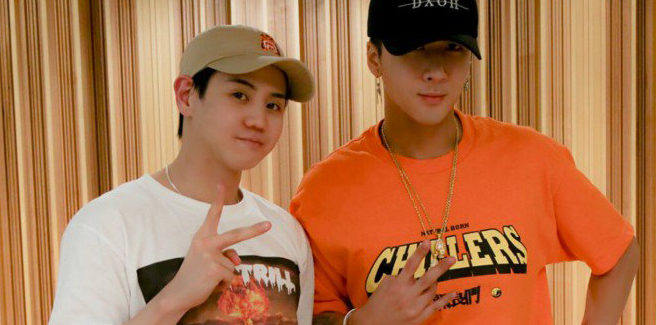 Ravi dei VIXX con Yoseob degli Highlight in 'Adorable'