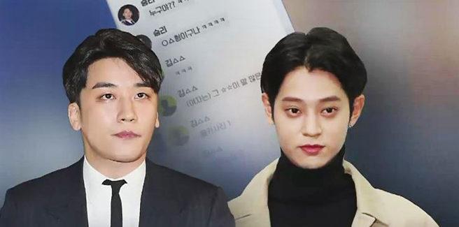 Rivelate alcune 'scottanti' chat tra Seungri, ex-BigBang, Yoo In Suk, Jung Joon Young e Choi Jonghun