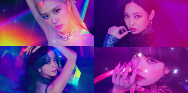 Le BLACKPINK nella versione giapponese di 'Lovesick Girls'