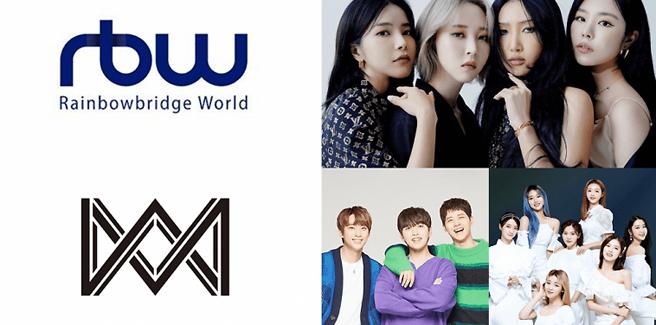 La RBW (MAMAMOO) acquisisce la WM Ent (Oh My Girl e B1A4)