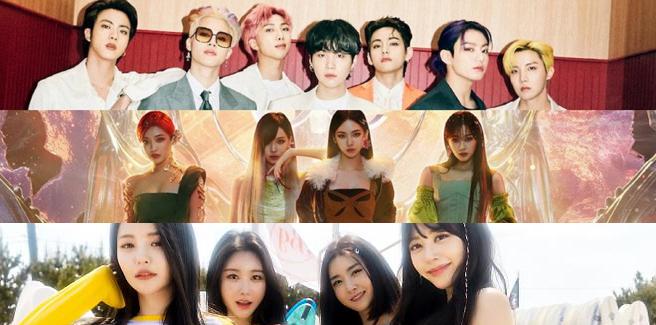 BTS, aespa e Brave Girls: è una feroce battaglia per il primo posto su MelOn