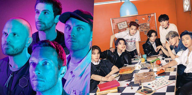 Una collaborazione tra BTS e Coldplay è quasi realtà?